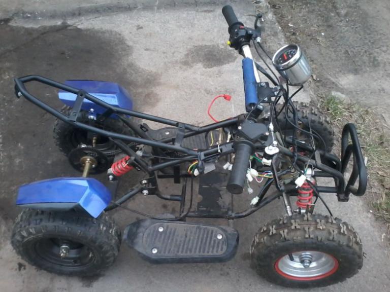Как сделать из скутера квадроцикл 70