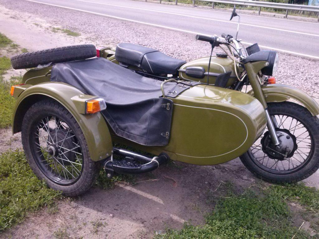 Восстановление мотоцикла, урал
