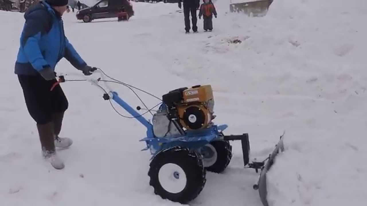 Отвал для снега своими руками но мотоблок