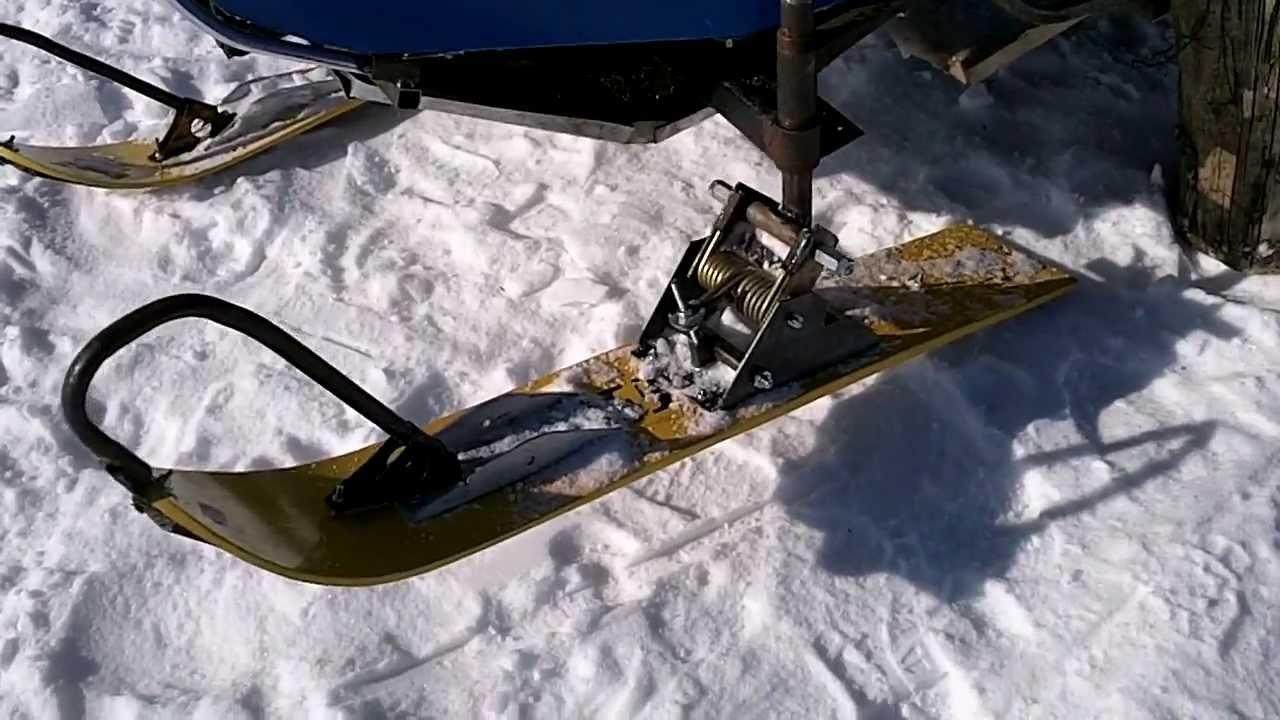 Самодельные лыжи к снегоходу своими руками фото 665