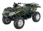 Динамичный квадроцикл Arctic Cat 700