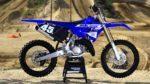 Кроссовый мотоцикл Ямаха yz 125