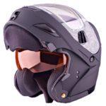 Снегоходный зимний шлем с подогревом