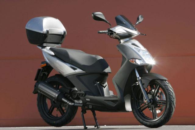 Скутер кимко 125
