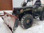 Как выбрать квадроцикл для уборки снега